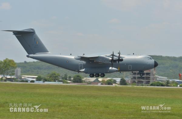 马空军订购的首架A400M将在LIMA航展亮相