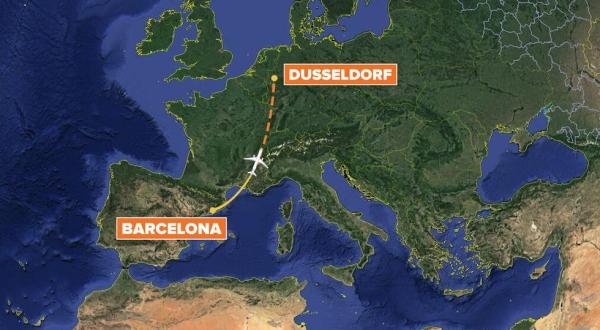 德国之翼A320坠机前最后通话曝光