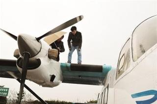 湖北首次使用通用航空飞机实施人工增雨