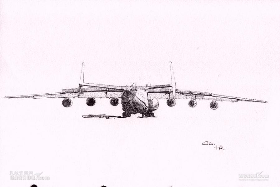 再发飞机逼真手绘图 女神的手绘飞机又来了_民航新闻