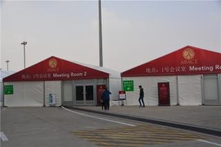 2015亚洲公务航空大会及展览会(ABACE2015)将于2015年4月14至16日在中国上海举行,连日来,各参展商都在厉兵秣马,准备在ABACE会上一展风采。今天,小编提前到达航展现场,小伙伴们跟随小编的视线,提前感受一下现场的气氛!