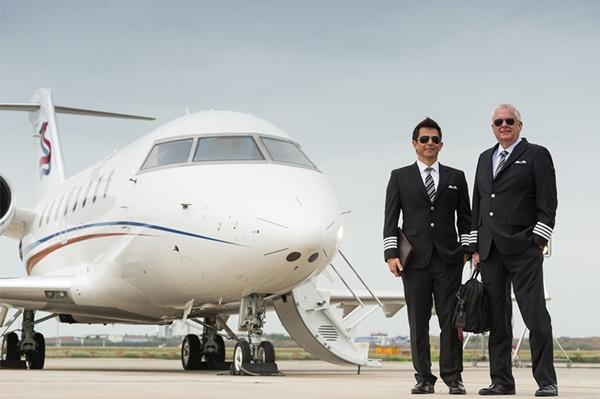 SINO JET华龙航空正式亮相亚洲公务机展