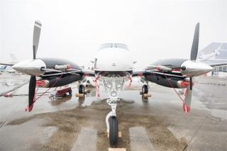 ABACE 2015参展飞机 (摄影:张四军)
