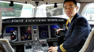汉华航空亮相2015亚洲公务航空大会 (摄影:张四军)