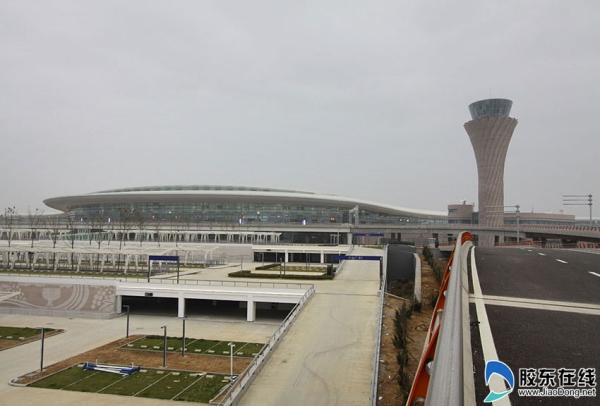 煙臺蓬萊機場5月底或投用 將設48個值機柜臺
