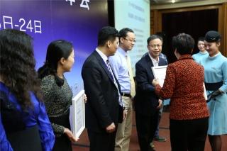 2014年度民航旅客服务评测颁奖典礼。 (摄影:崔振涛)