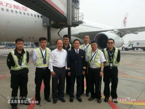 劳动节 东航总经理刘绍勇亲自驾机执飞航班