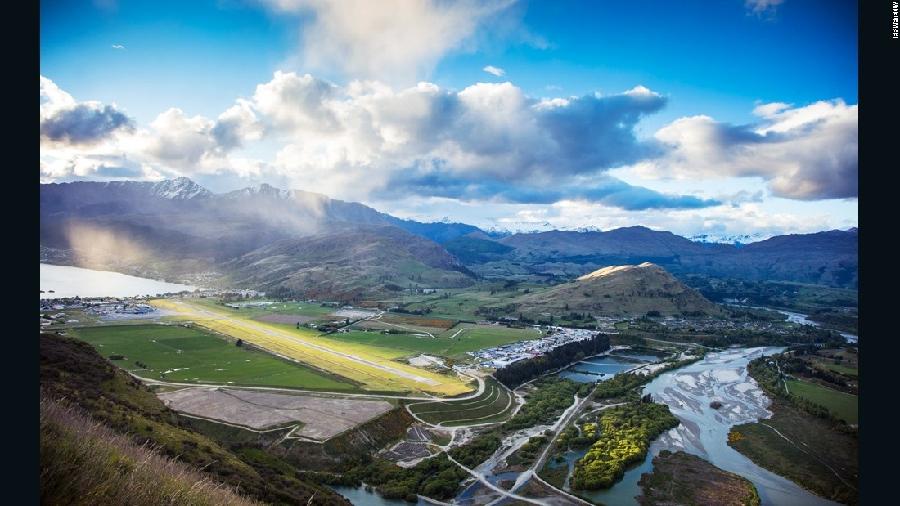 2015十大最美风光机场 新西兰皇后镇夺魁