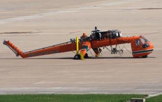 """N159AC号SIKORSKY S-64型飞机。民航图库图片,摄影:民航资源网网友""""谁明浪子心""""。浏览作者图库原帖《[原创]【TSN飞友会】***塔赫来津***》。"""