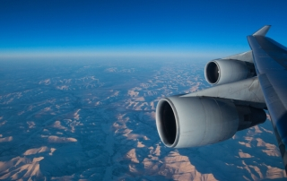 """中国国际航空股份有限公司B-2443号BOEING 747-400型客机。民航图库图片,摄影:民航资源网网友""""追寻FF的痴者""""。浏览作者图库原帖《[原创]【商务舱】 国航 旧金山-北京 美联航 北京-旧金山》。"""