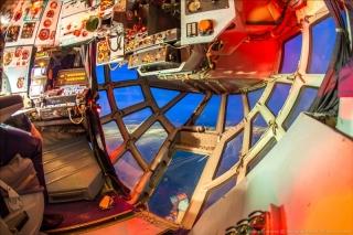 俄罗斯伊尔-76运输机领航员舱(图片来源:Englishrussia)