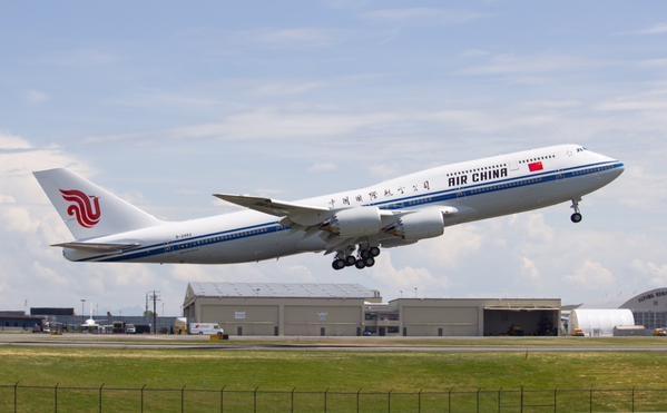 国航接收第6架747-8洲际客机 第7架或年内交付