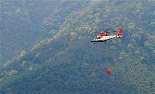 今夏重庆市航空护林直升机将增至四架