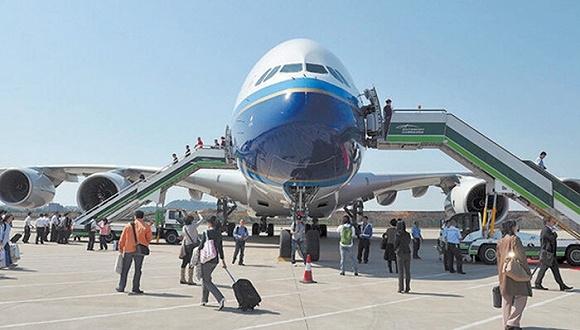 中国航空事业发展迅猛 到处都在造新机场