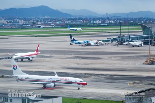 4月华东42个机场客运量2457.4万(附排行榜)