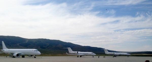 阿勒泰(喀纳斯)机场单日保障公务机达26架次