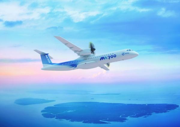 新舟700支线飞机机身等直段补充试验顺利完成