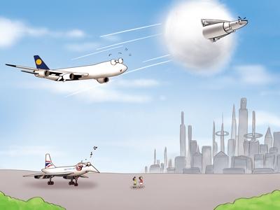 """超音速飞机获专利 新一代""""协和""""能走多远?"""