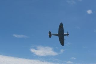 新西兰阿德摩尔古董战机航展 (摄影:嵇晨頔)