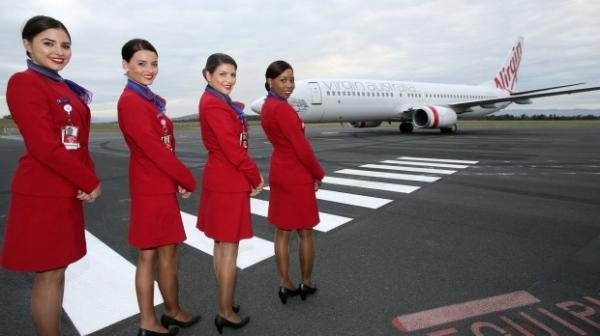 图:在四年期间内,维珍澳大利亚航空的短程航班空乘人员将会获得每年图片