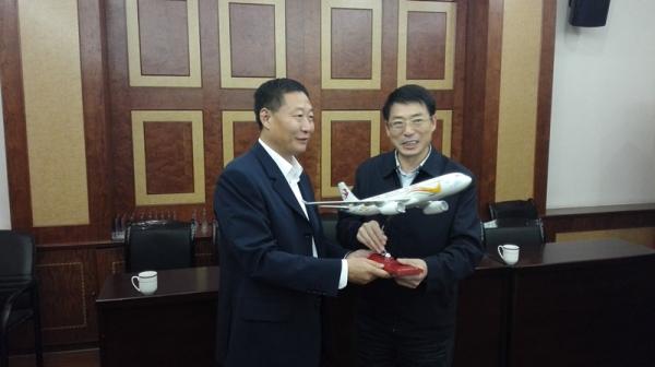 东航云南公司总经理一行赴昭通拜会地方政府