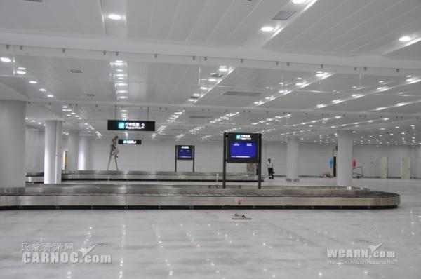晋江国际机场10月15日将启用新国内到达厅
