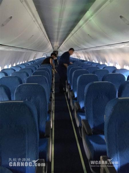 奥凯航空选用国产座椅装配737-900ER飞机