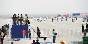 2015通航大會即將開幕 多架參展飛機亮相