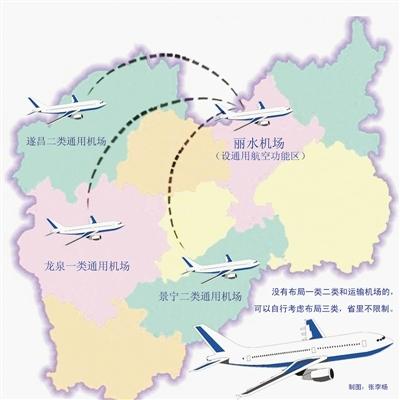 未来浙江丽水市将至少拥有4个通用机场
