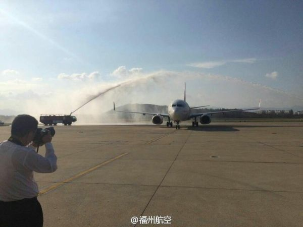 """福州航空迎来第6架飞机""""青运会献礼号""""的加入"""