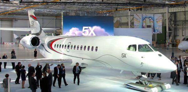 发动机新出故障 达索猎鹰5X公务机首飞无期