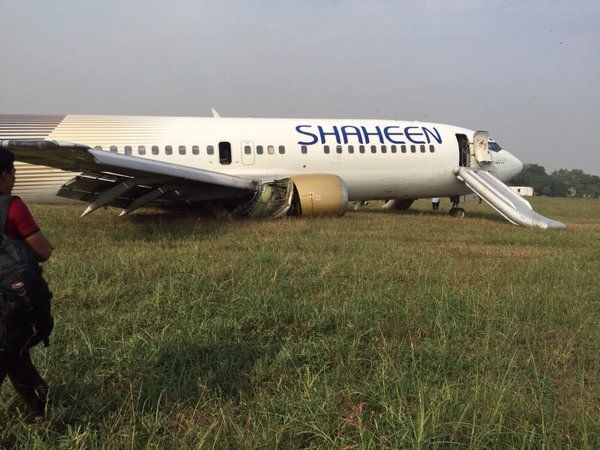 巴基斯坦机腹着陆客机飞行员系醉驾且疲劳驾驶