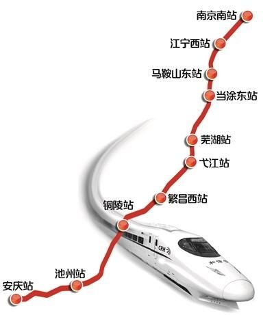 """宁安高铁最迟下月开通 被誉""""高颜值""""线路"""