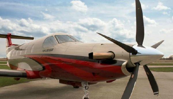 新型飞机囹�a_hartzell推出新型五叶螺旋桨 用于pc-12飞机