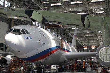 俄罗斯:折翼伊尔96将获新生 拟恢复量产