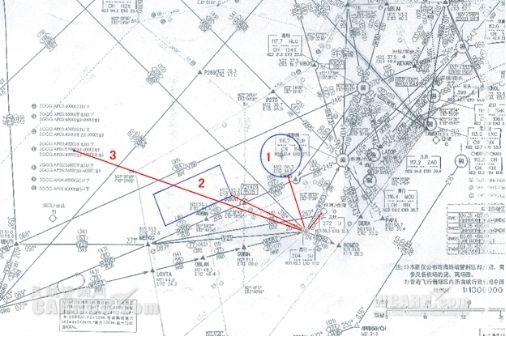 3,航线:珠海金湾机场--高栏-- n22°15′e112°16′,往返同.