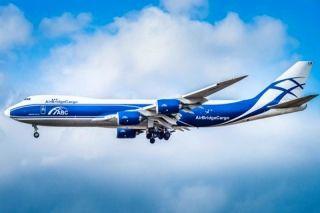 波音交付第100架747-8飛機