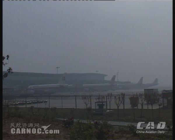 东航西北运控积极应对大雾天气 保航班