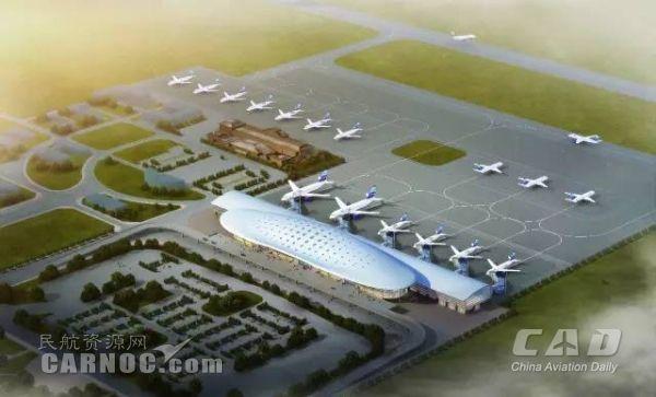 赣州黄金机场开工改扩建 计划2018年完工