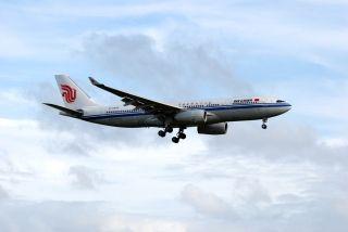 【首航直击】终于在新西兰捉到一只国航A330
