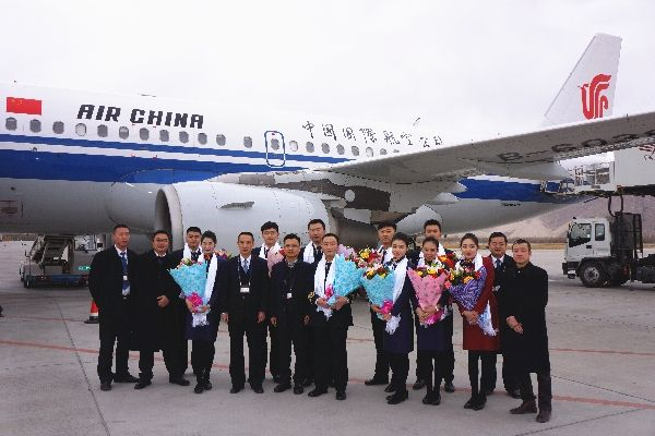 國航西藏2015年保障進出港旅客824401人次