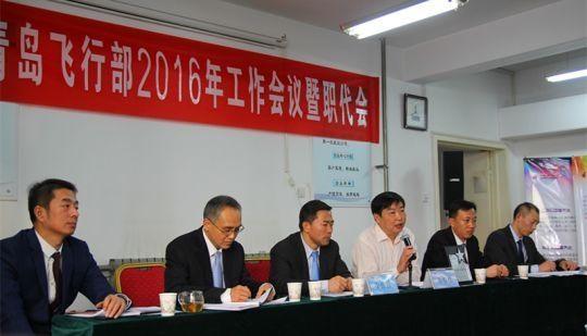 图:东航山东青岛飞行部完成2015年全年任务 摄影:初江波