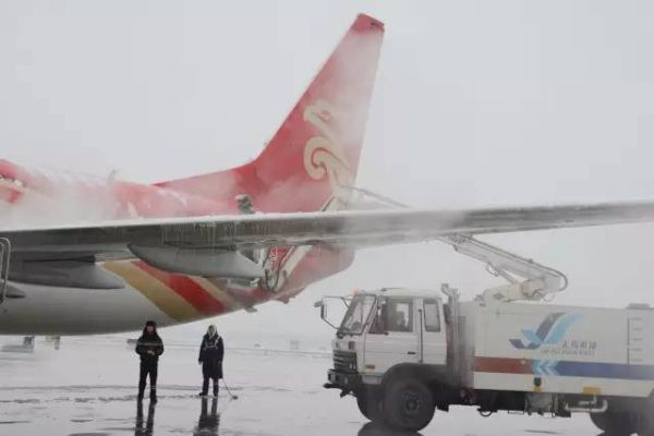 冰雪来袭!苏南机场厉兵秣马为您保驾护航!