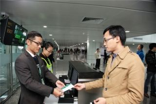 白云机场国际流程改造春运前投入使用