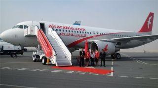 2016年巴林国际航展上的AirArabia航空公司的A320客机
