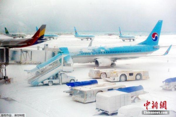韩国航空公司彻夜运送2.7万济州岛滞留旅客