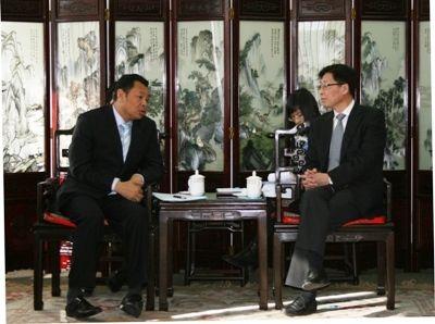 王志清会见柬埔寨客人 交流中柬民航合作事宜