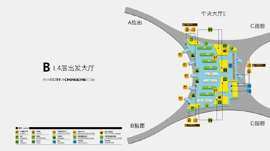 重庆江北国际机场3号航站楼建设探秘