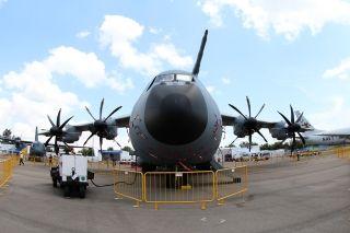 马来西亚空军空客A400M运输机 (摄影:沈铨)