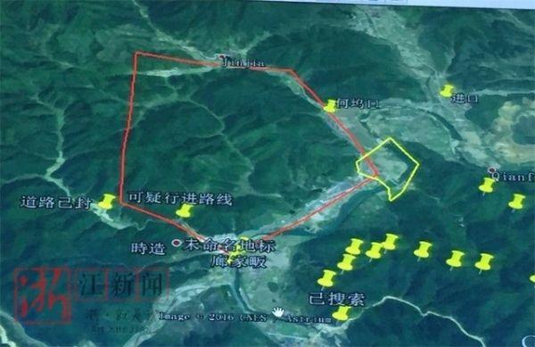 【2月17日17:46更新】   浦江县大畈乡建光村三名小孩搜寻进展